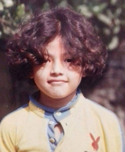 Samragyee RL Shah childhood photo