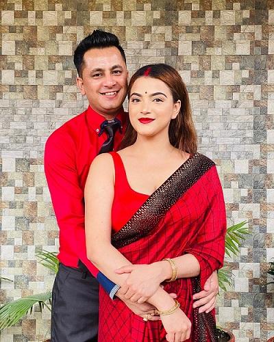 Deepika Prasain and Diwakar Bhattarai