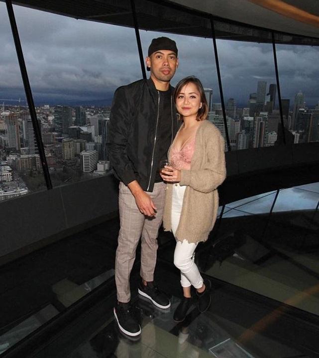 Nicky Karki With her boyfriend