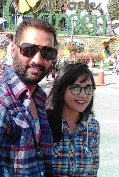 Nikhil Upreti and Wife Sanchita Luitel