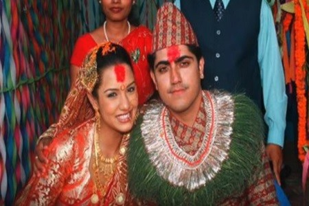 Priyanka Karki and Previous Husband Rochak Mainali
