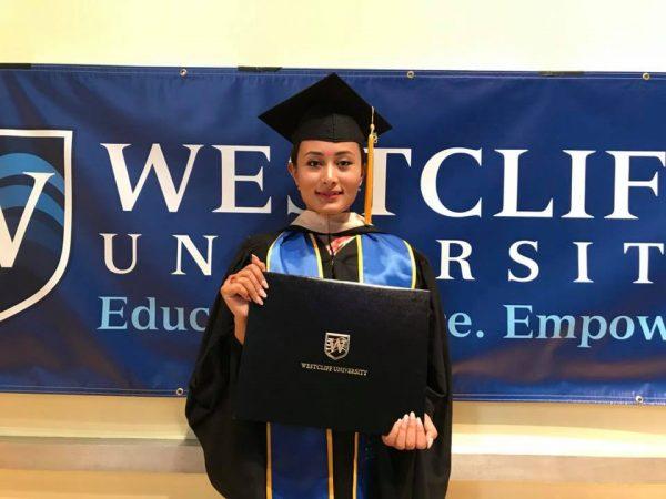 Sashi Shrestha graduated