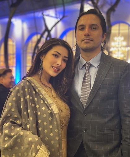 Suzeena Shrestha boyfriend Avishek K.C.