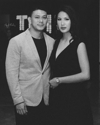 Sipora Gurung with ex-boyfriend Udip Shrestha