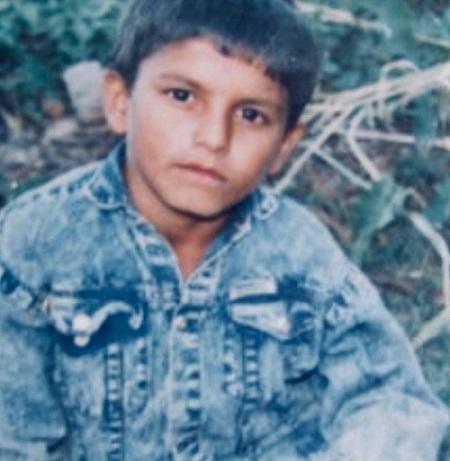 pramod kharel in childhood