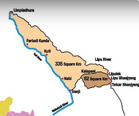 Susta Kalapani and Limpiyadhura Dispute