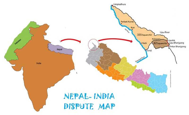India Nepal Border Dispute