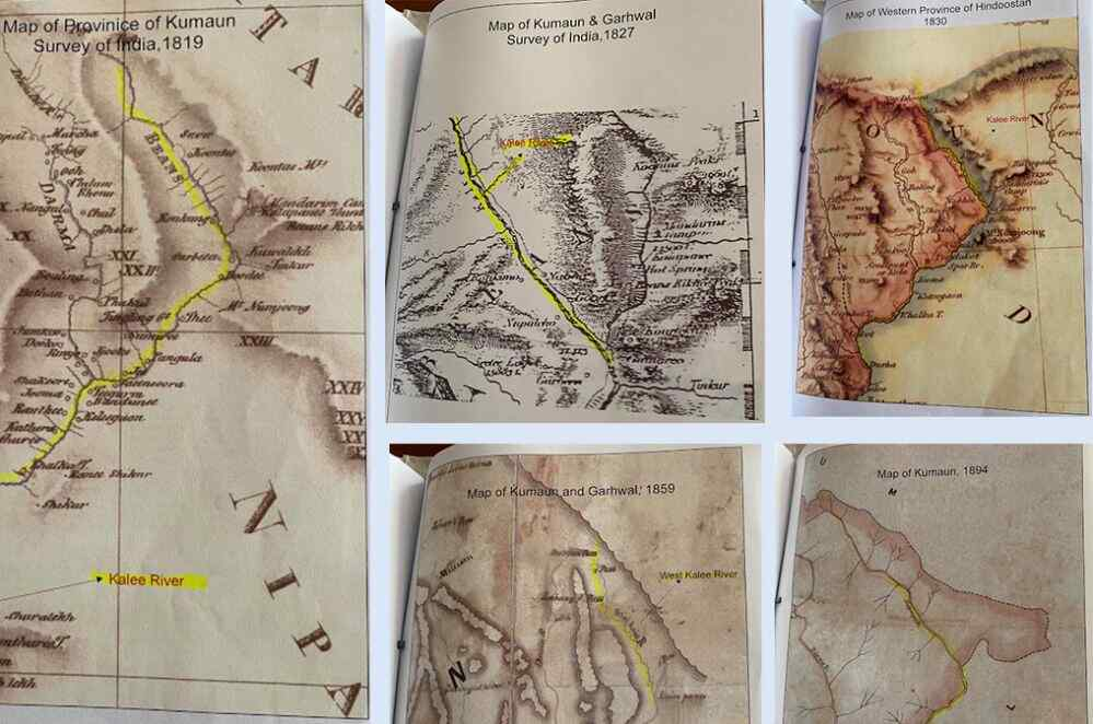 Maps to Proof disputed area lies in Nepal