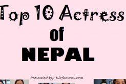 Top Actress of Nepal