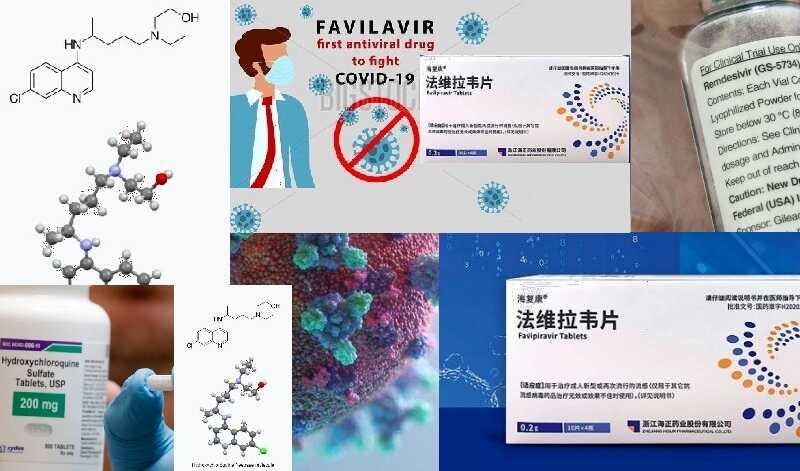 corona virus medicine list