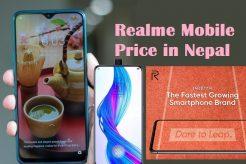 realme mobile price in nepal